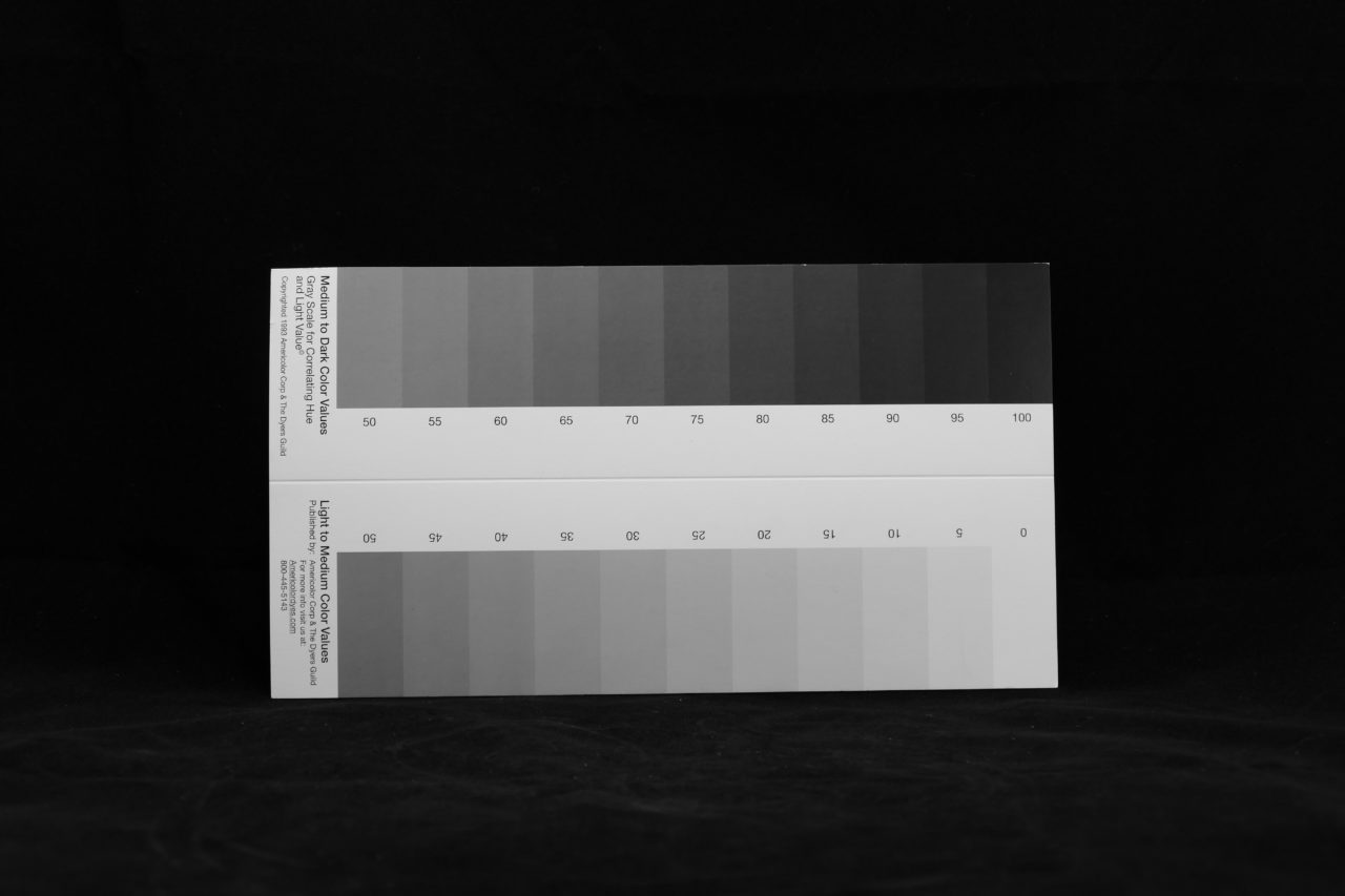21 Level Gray Scale Americolor Dyes