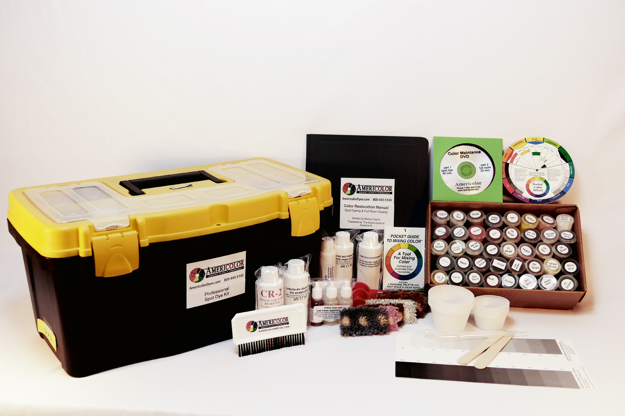 Professional Spot Dye Kit